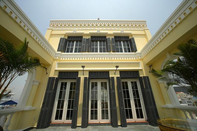 Mẫu thiết kế biệt thự kiểu Pháp cổ trong lòng Sài Gòn náo nhiệt - 12