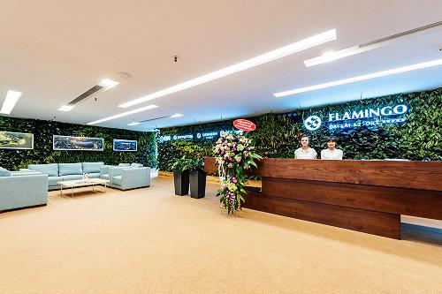 Mẫu thiết kế nội thất văn phòng đẹp tràn ngập ánh sáng và cây xanh ở Hà Nội - 2