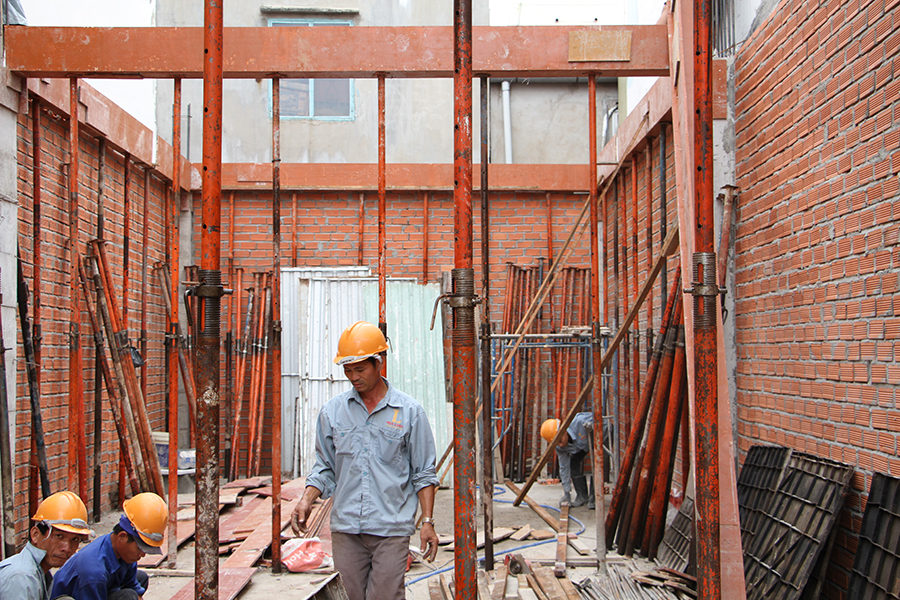 So sánh giá thi công xây dựng phần thô nhà