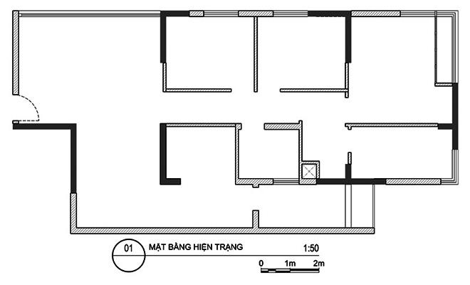 Thiết kế căn hộ 100m2 3 phòng ngủ thoáng mát và tiện ích trong từng góc nhỏ - 1