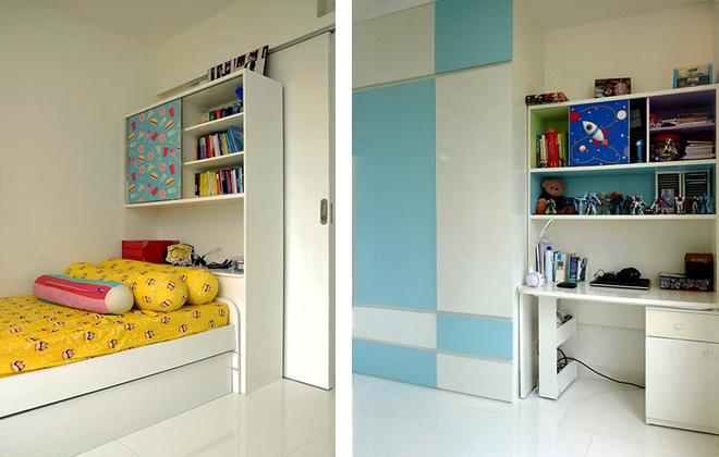 Thiết kế căn hộ 100m2 3 phòng ngủ thoáng mát và tiện ích trong từng góc nhỏ - 11