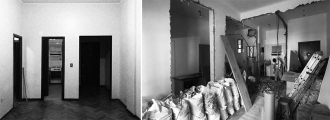 Thiết kế căn hộ 60m2 cực sáng tạo khi biến tường thành tủ đồ - 1