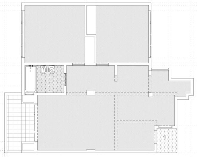 Thiết kế căn hộ 60m2 cực sáng tạo khi biến tường thành tủ đồ - 9