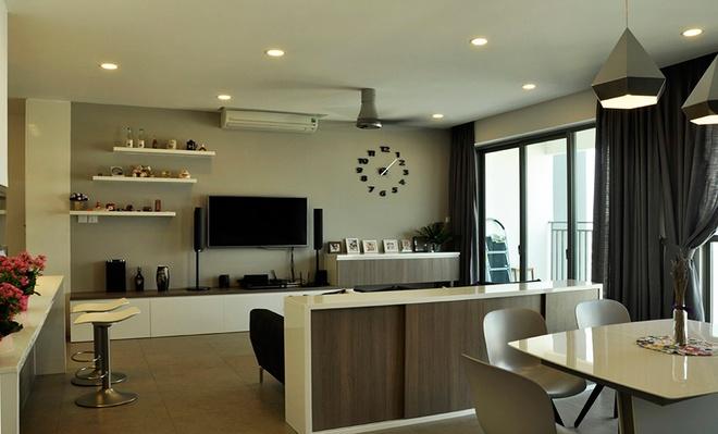 Tư vấn thiết kế căn hộ chung cư phong cách hiện đại không một góc tối - 4