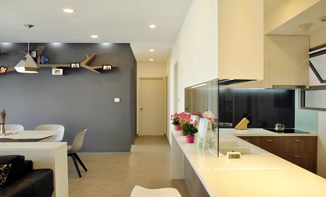 Tư vấn thiết kế căn hộ chung cư phong cách hiện đại không một góc tối - 6