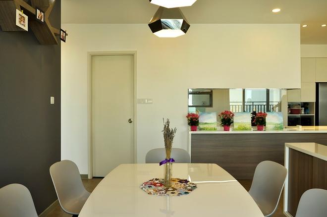 Tư vấn thiết kế căn hộ chung cư phong cách hiện đại không một góc tối - 7