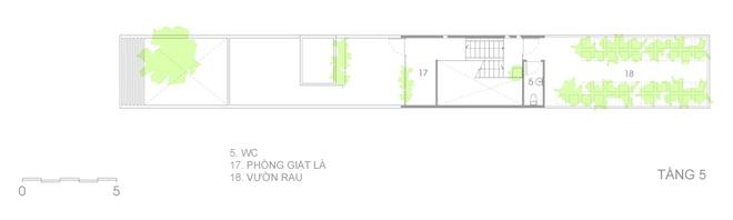 Thiết kế nhà ống ở TPHCM - 13