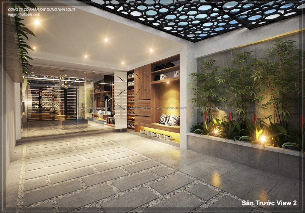 Thiết kế không gian xanh trong nhà hiện đại tuyệt đẹp tại quận 7