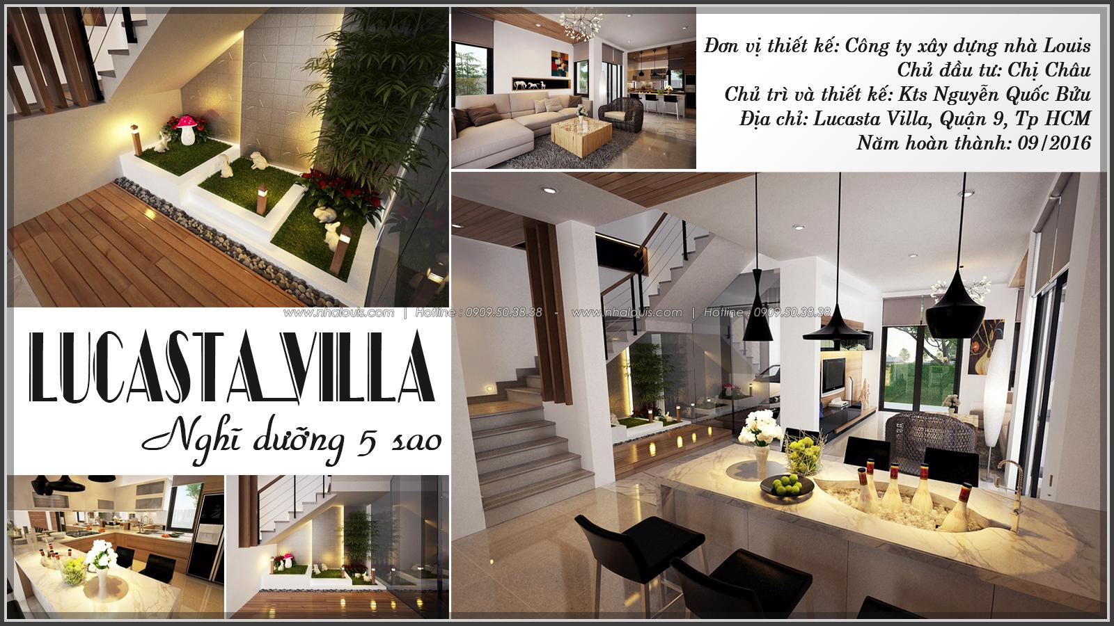Tư vấn thiết kế nội thất biệt thự Lucasta Villa tại quận 9 - 1