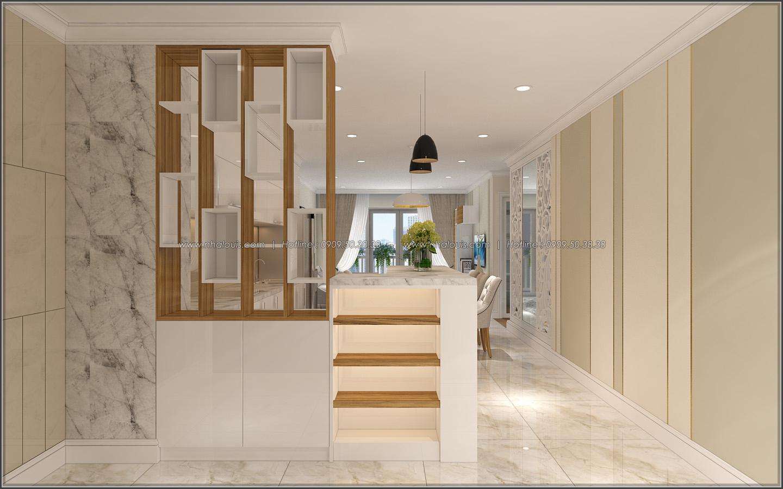 Đứng hình với thiết kế nội thất căn hộ Sunrise City đẹp không tì vết - 01