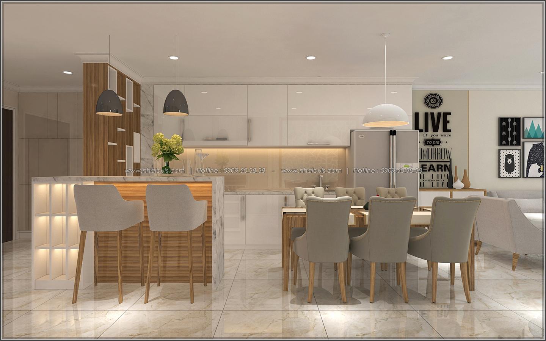 Đứng hình với thiết kế nội thất căn hộ Sunrise City đẹp không tì vết - 02