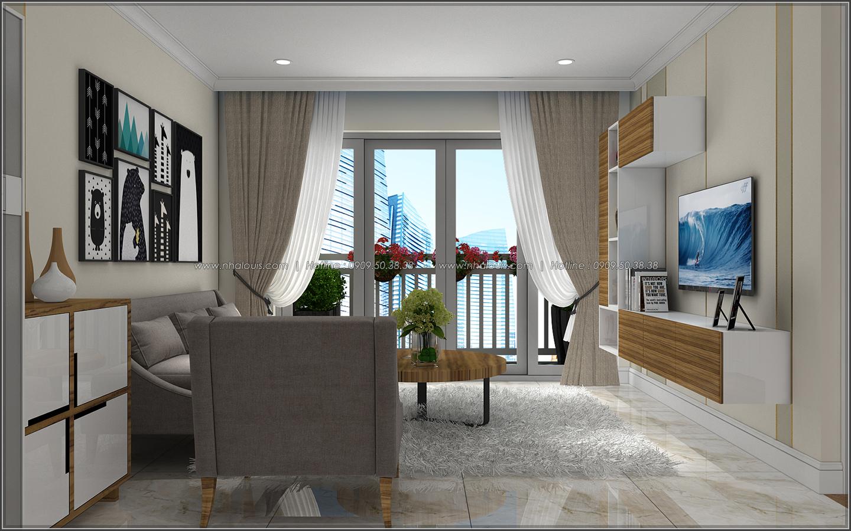Đứng hình với thiết kế nội thất căn hộ Sunrise City đẹp không tì vết - 04
