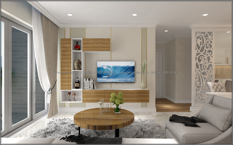 Đứng hình với thiết kế nội thất căn hộ Sunrise City đẹp không tì vết - 05
