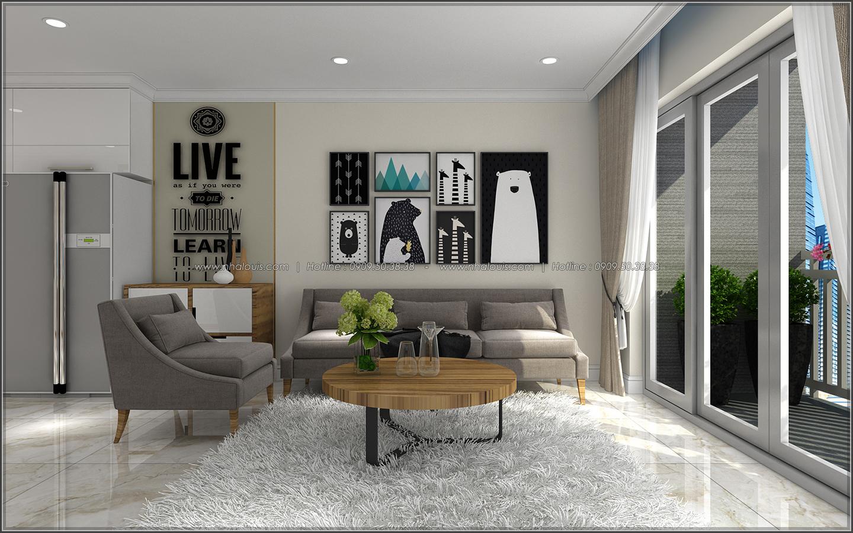 Đứng hình với thiết kế nội thất căn hộ Sunrise City đẹp không tì vết - 06