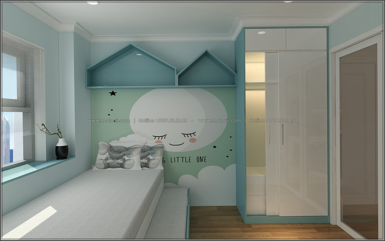 Đứng hình với thiết kế nội thất căn hộ Sunrise City đẹp không tì vết - 13