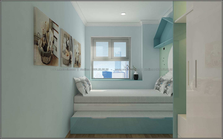 Đứng hình với thiết kế nội thất căn hộ Sunrise City đẹp không tì vết - 14