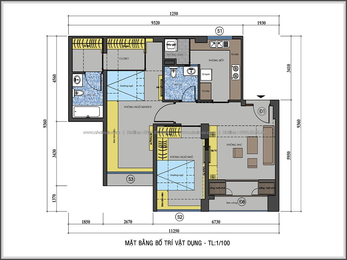 Ngỡ ngàng với thiết kế nội thất căn hộ nhỏ đẹp tinh tế ở Quận 5 - 02