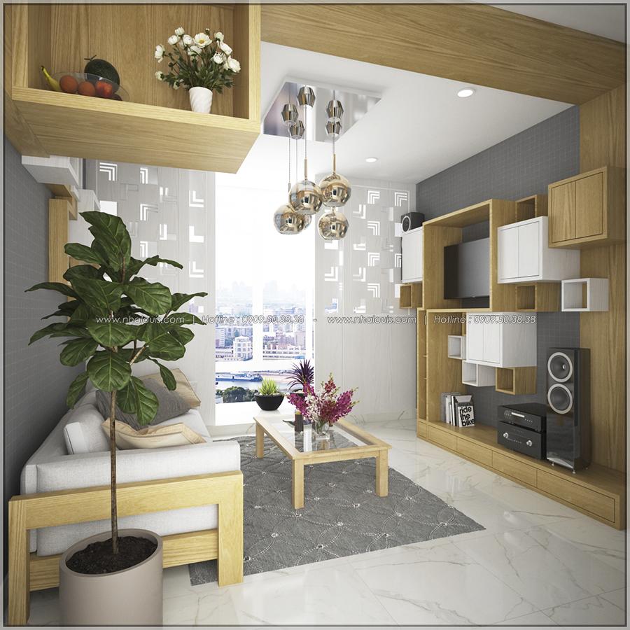 Ngỡ ngàng với thiết kế nội thất căn hộ nhỏ đẹp tinh tế ở Quận 5 - 03
