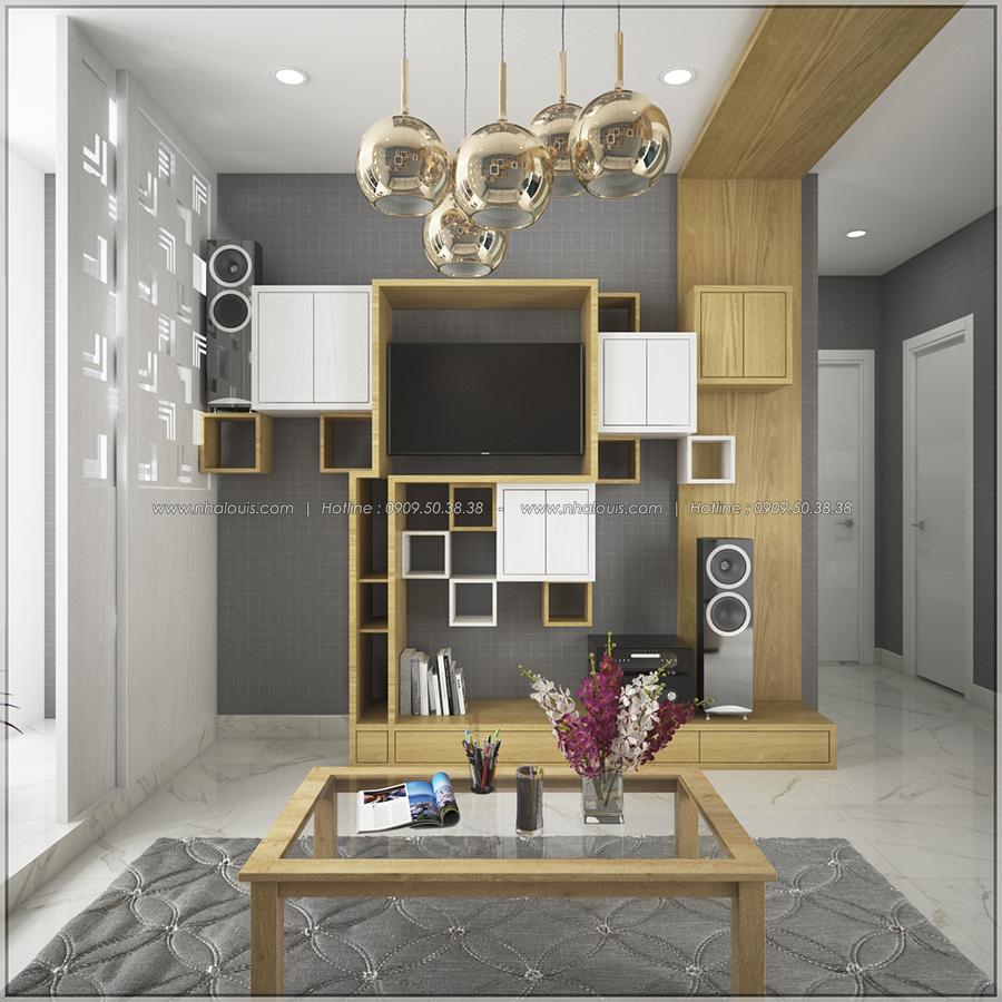 Ngỡ ngàng với thiết kế nội thất căn hộ nhỏ đẹp tinh tế ở Quận 5 - 04