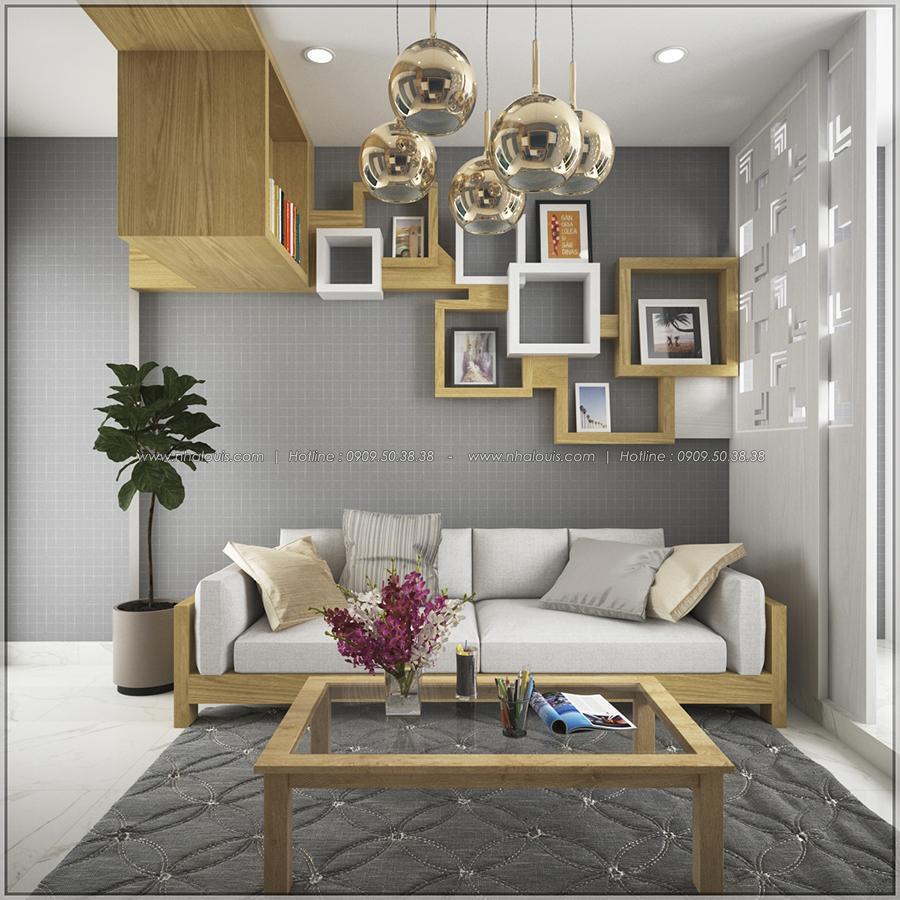 Ngỡ ngàng với thiết kế nội thất căn hộ nhỏ đẹp tinh tế ở Quận 5 - 05