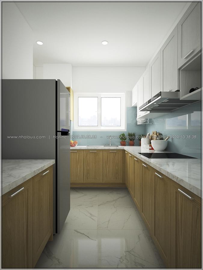 Ngỡ ngàng với thiết kế nội thất căn hộ nhỏ đẹp tinh tế ở Quận 5 - 06