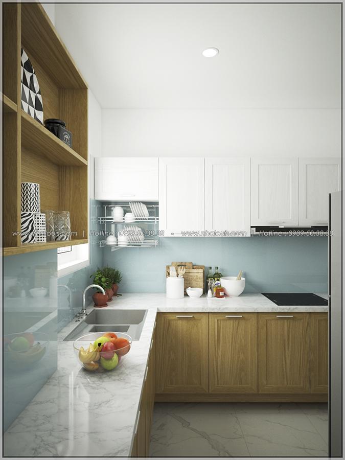 Ngỡ ngàng với thiết kế nội thất căn hộ nhỏ đẹp tinh tế ở Quận 5 - 07