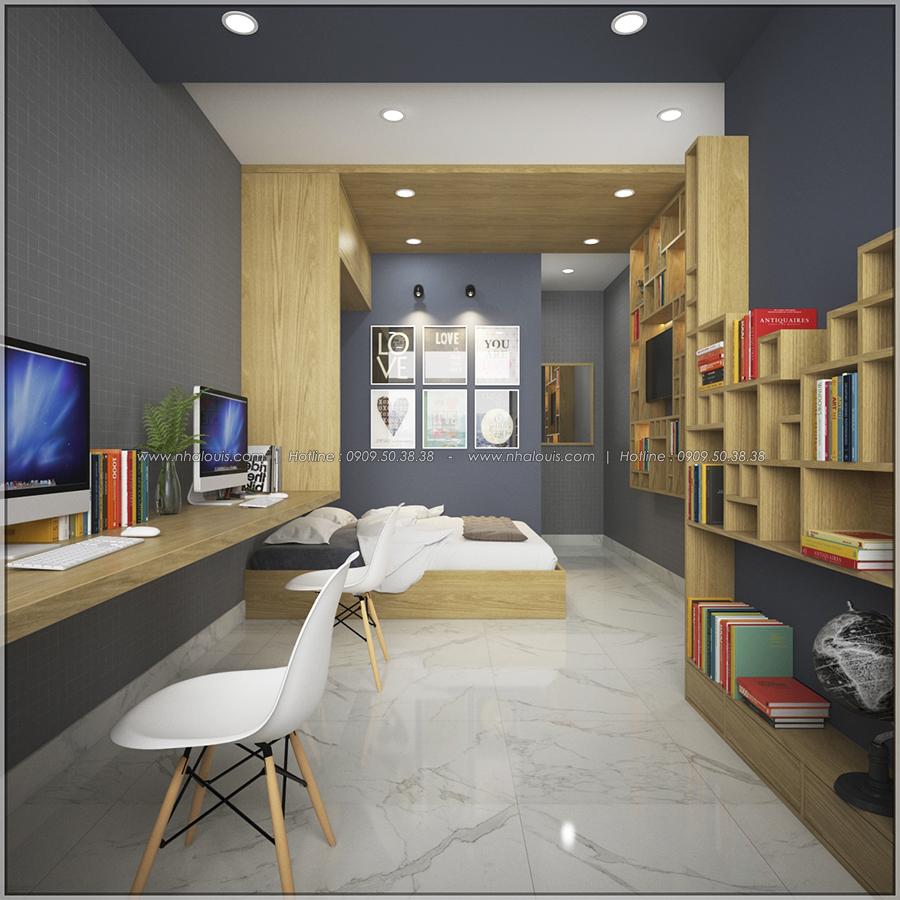 Ngỡ ngàng với thiết kế nội thất căn hộ nhỏ đẹp tinh tế ở Quận 5 - 08