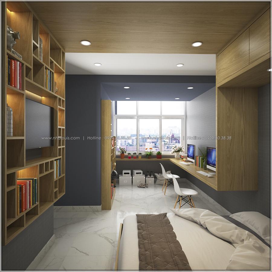 Ngỡ ngàng với thiết kế nội thất căn hộ nhỏ đẹp tinh tế ở Quận 5 - 09