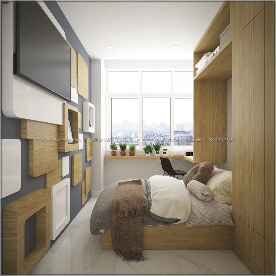 Ngỡ ngàng với thiết kế nội thất căn hộ nhỏ đẹp tinh tế ở Quận 5 - 10