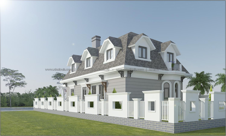 Thiết kế biệt thự 2 tầng Đà Lạt độc đáo và khác biệt tại xứ sở ngàn hoa - 05