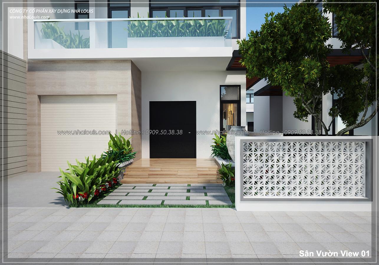 Thiết kế biệt thự 3 tầng đẹp đẳng cấp ngay tại dự án Lucasta Villa Quận 9 - 01