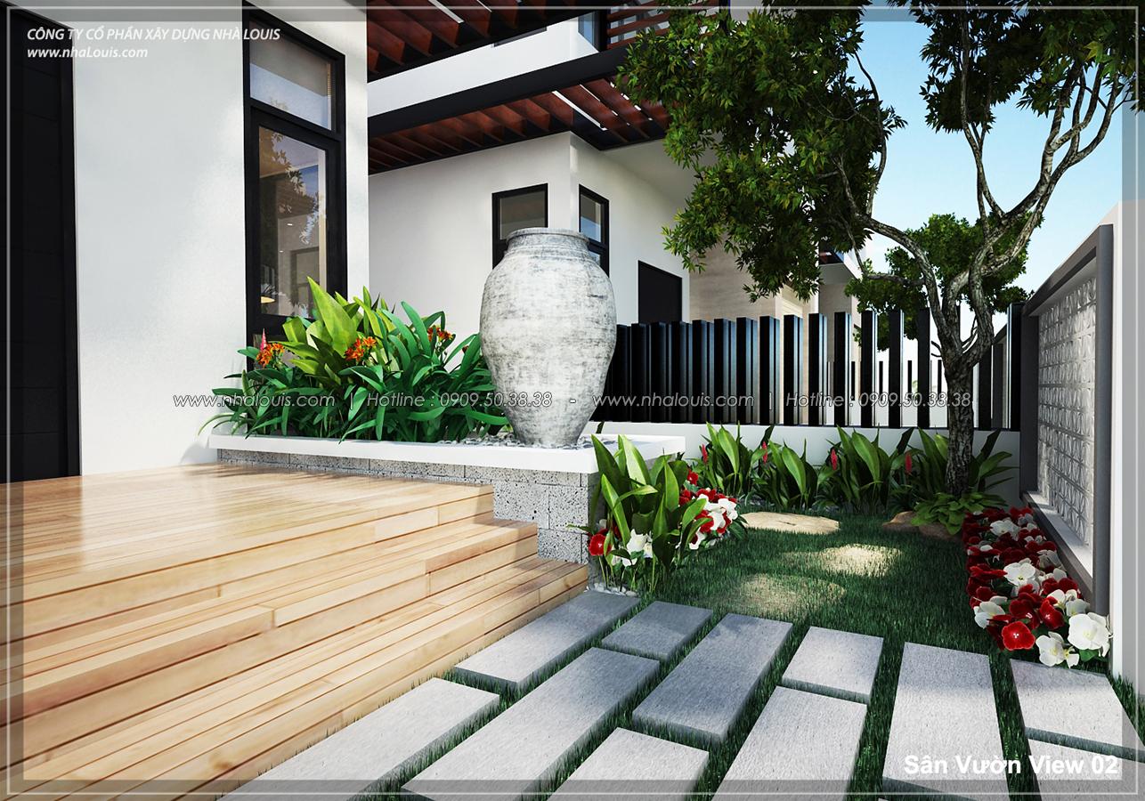 Thiết kế biệt thự 3 tầng đẹp đẳng cấp ngay tại dự án Lucasta Villa Quận 9 - 02