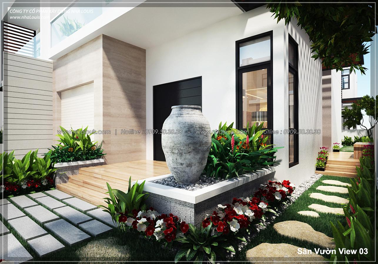 Thiết kế biệt thự 3 tầng đẹp đẳng cấp ngay tại dự án Lucasta Villa Quận 9 - 03