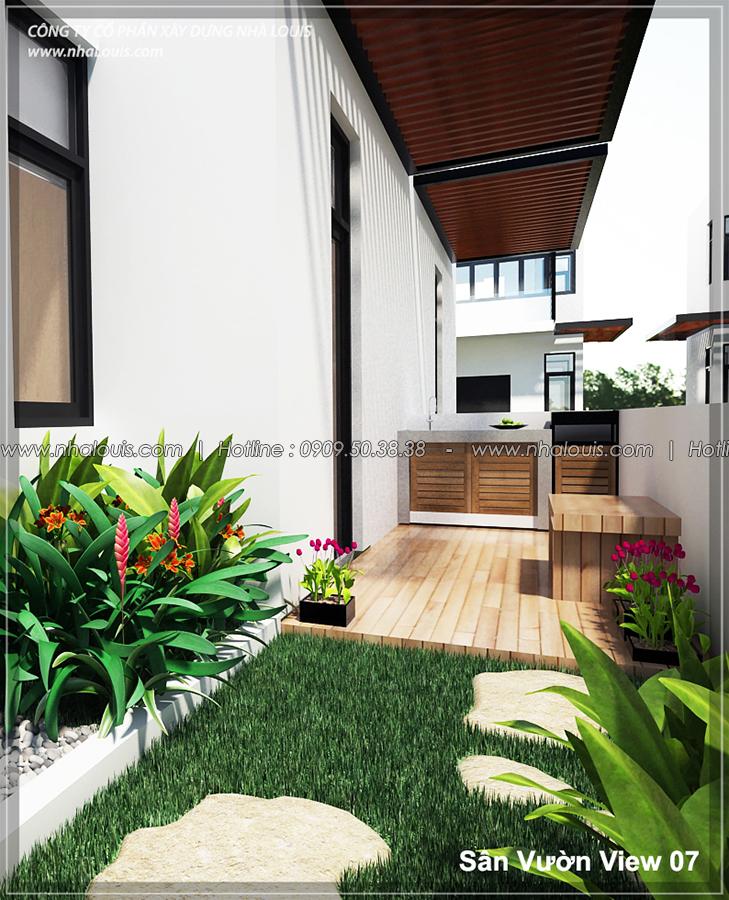 Thiết kế biệt thự 3 tầng đẹp đẳng cấp ngay tại dự án Lucasta Villa Quận 9 - 07