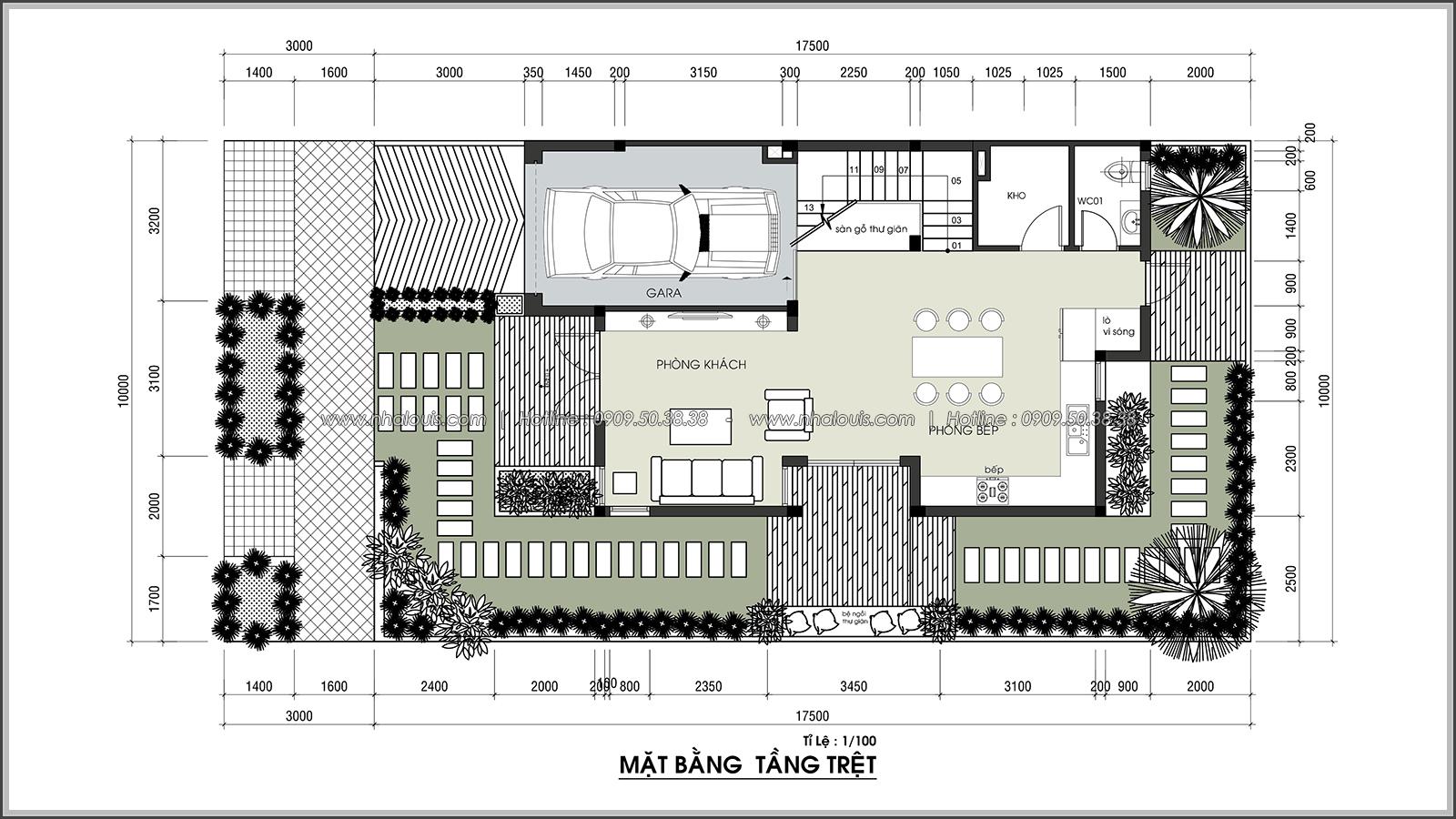 Thiết kế biệt thự 3 tầng đẹp đẳng cấp ngay tại dự án Lucasta Villa Quận 9 - 09
