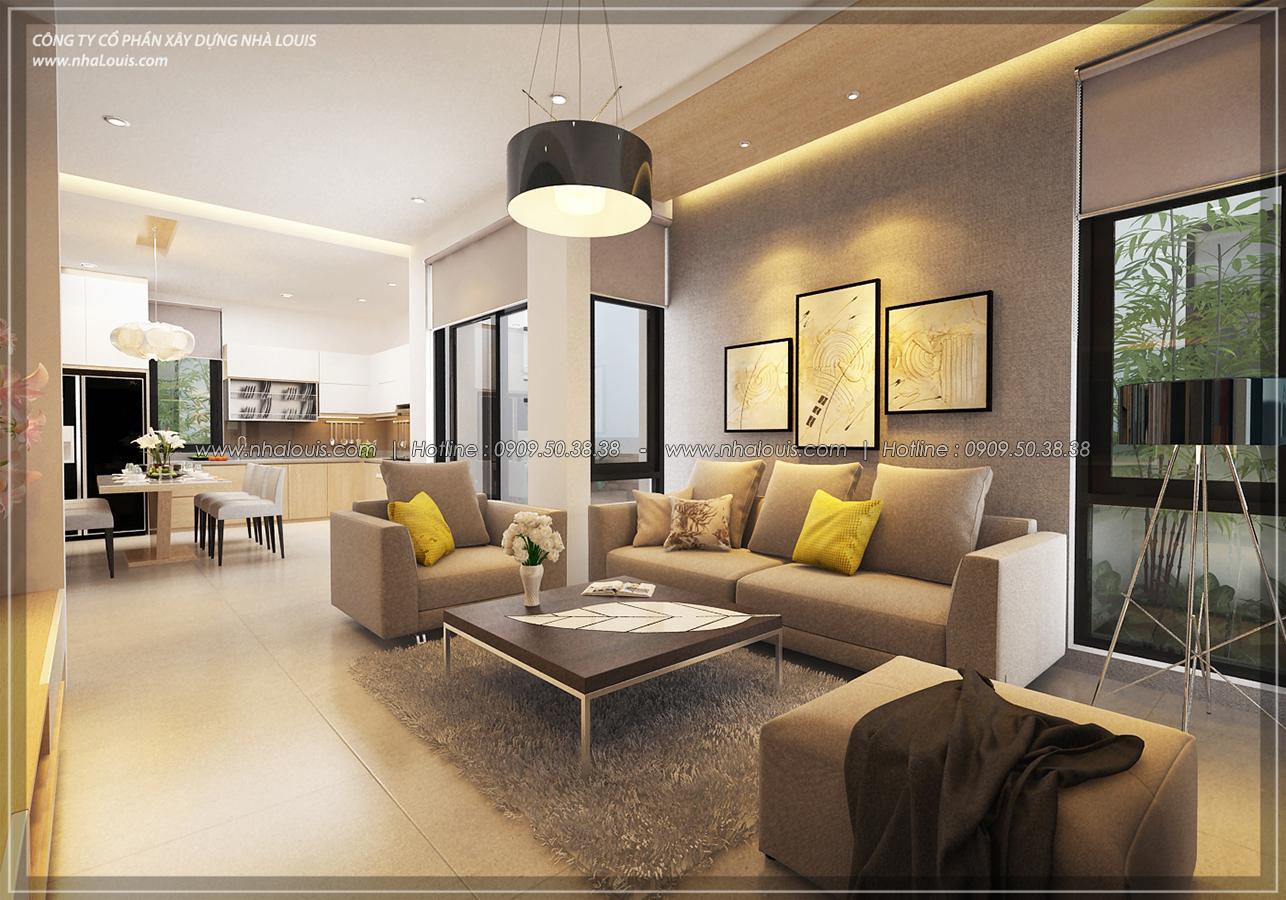 Thiết kế biệt thự 3 tầng đẹp đẳng cấp ngay tại dự án Lucasta Villa Quận 9 - 11