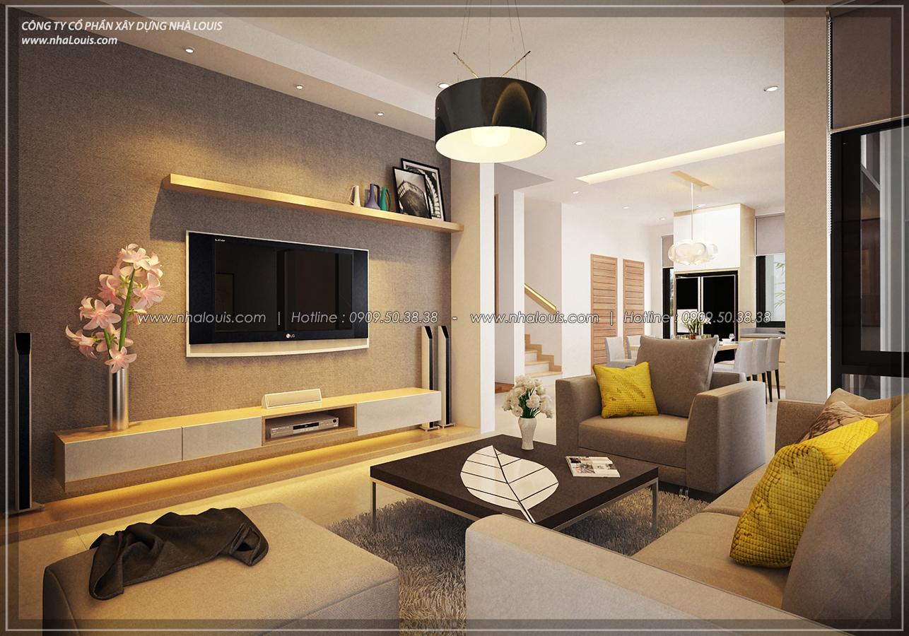 Thiết kế biệt thự 3 tầng đẹp đẳng cấp ngay tại dự án Lucasta Villa Quận 9 - 12