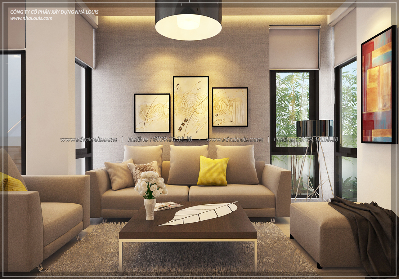 Thiết kế biệt thự 3 tầng đẹp đẳng cấp ngay tại dự án Lucasta Villa Quận 9 - 13