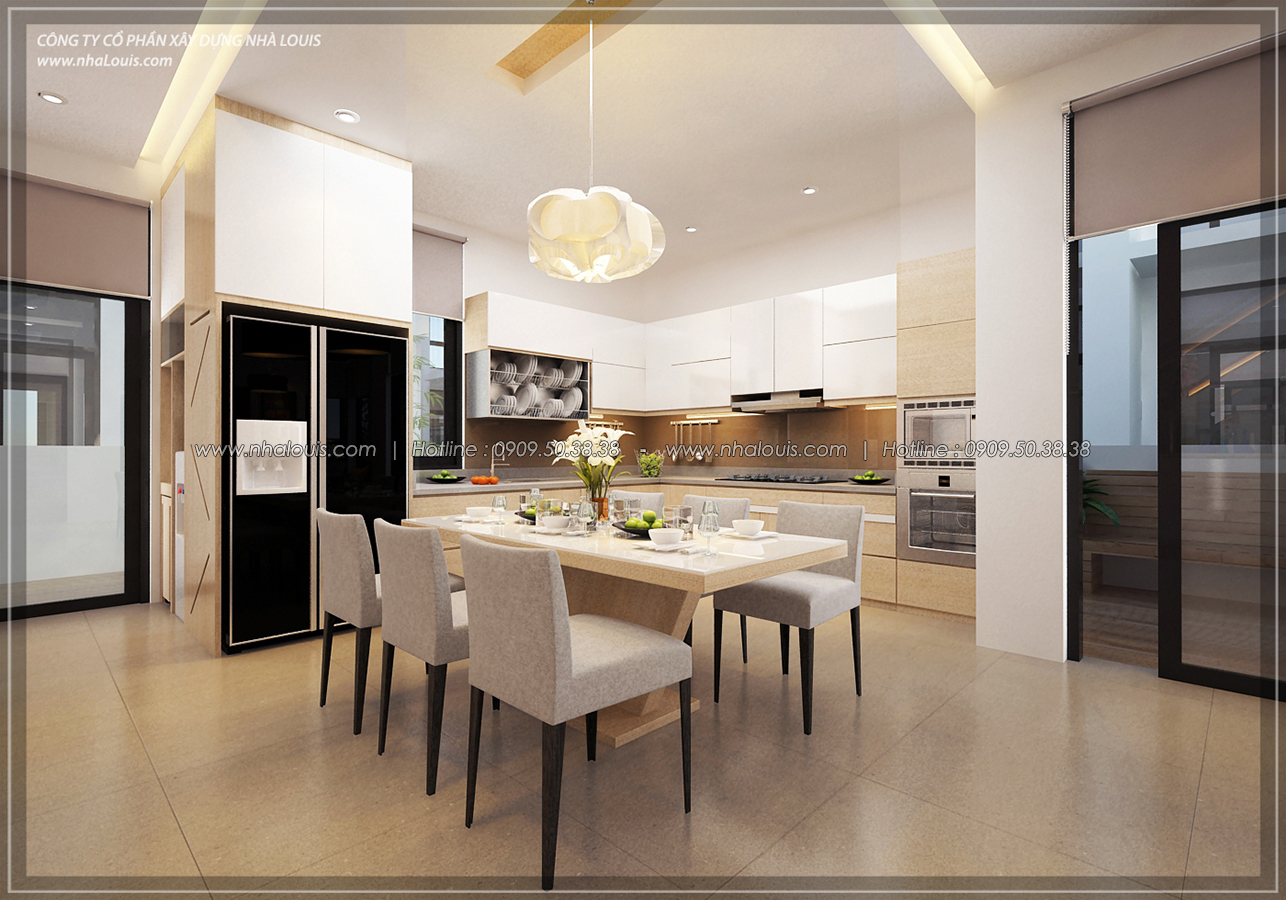 Thiết kế biệt thự 3 tầng đẹp đẳng cấp ngay tại dự án Lucasta Villa Quận 9 - 16