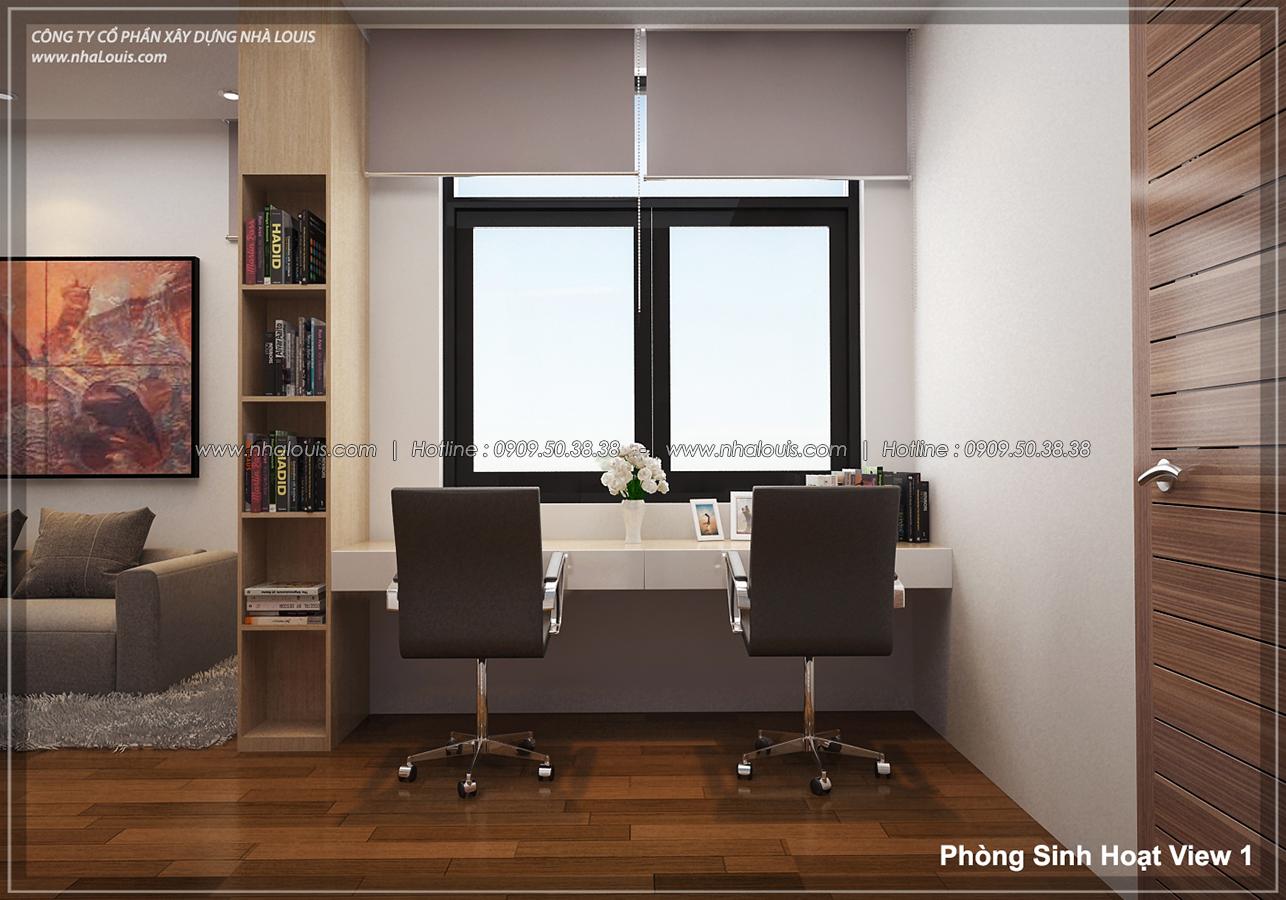 Thiết kế biệt thự 3 tầng đẹp đẳng cấp ngay tại dự án Lucasta Villa Quận 9 - 19