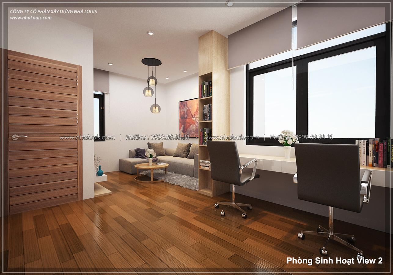 Thiết kế biệt thự 3 tầng đẹp đẳng cấp ngay tại dự án Lucasta Villa Quận 9 - 20