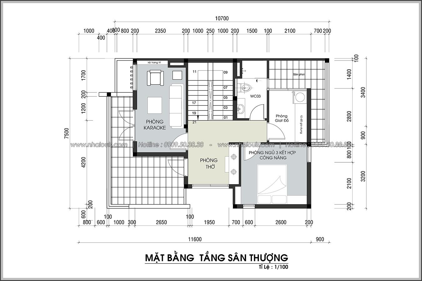 Thiết kế biệt thự 3 tầng đẹp đẳng cấp ngay tại dự án Lucasta Villa Quận 9 - 35