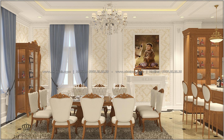 Thiết kế biệt thự cổ điển Châu Âu ở Sóc Trăng 2 mặt tiền đẹp lung linh - 06