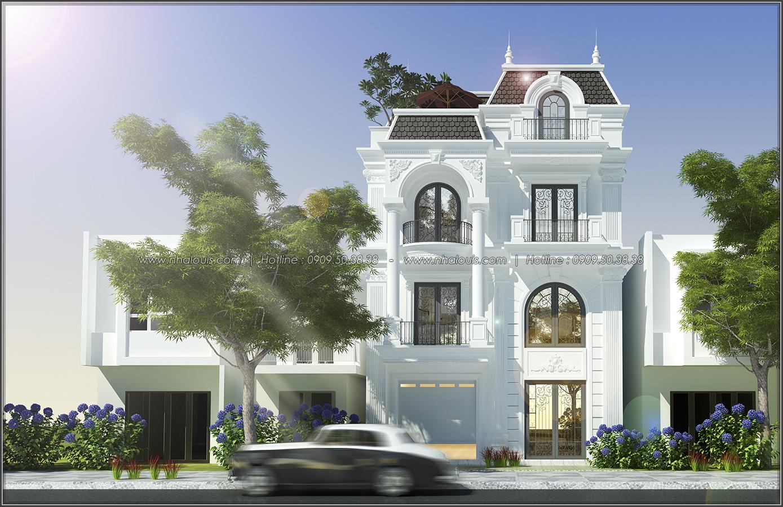 Thiết kế biệt thự tân cổ điển tại Đồng Nai đẹp rạng ngời phố thị - 01