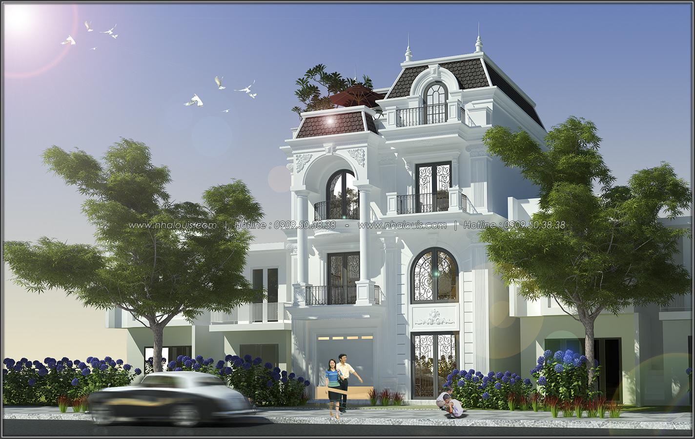 Thiết kế biệt thự tân cổ điển tại Đồng Nai đẹp rạng ngời phố thị - 02