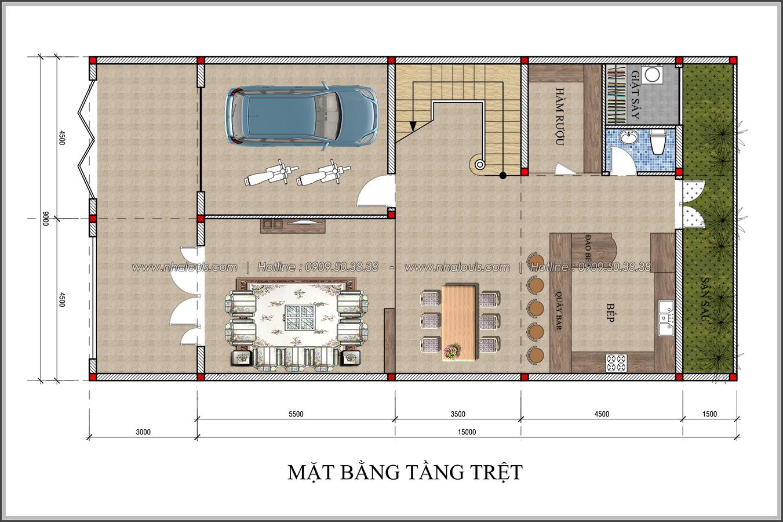 Thiết kế biệt thự tân cổ điển tại Đồng Nai đẹp rạng ngời phố thị - 03