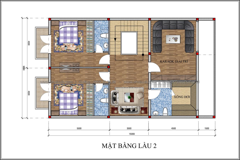 Thiết kế biệt thự tân cổ điển tại Đồng Nai đẹp rạng ngời phố thị - 05