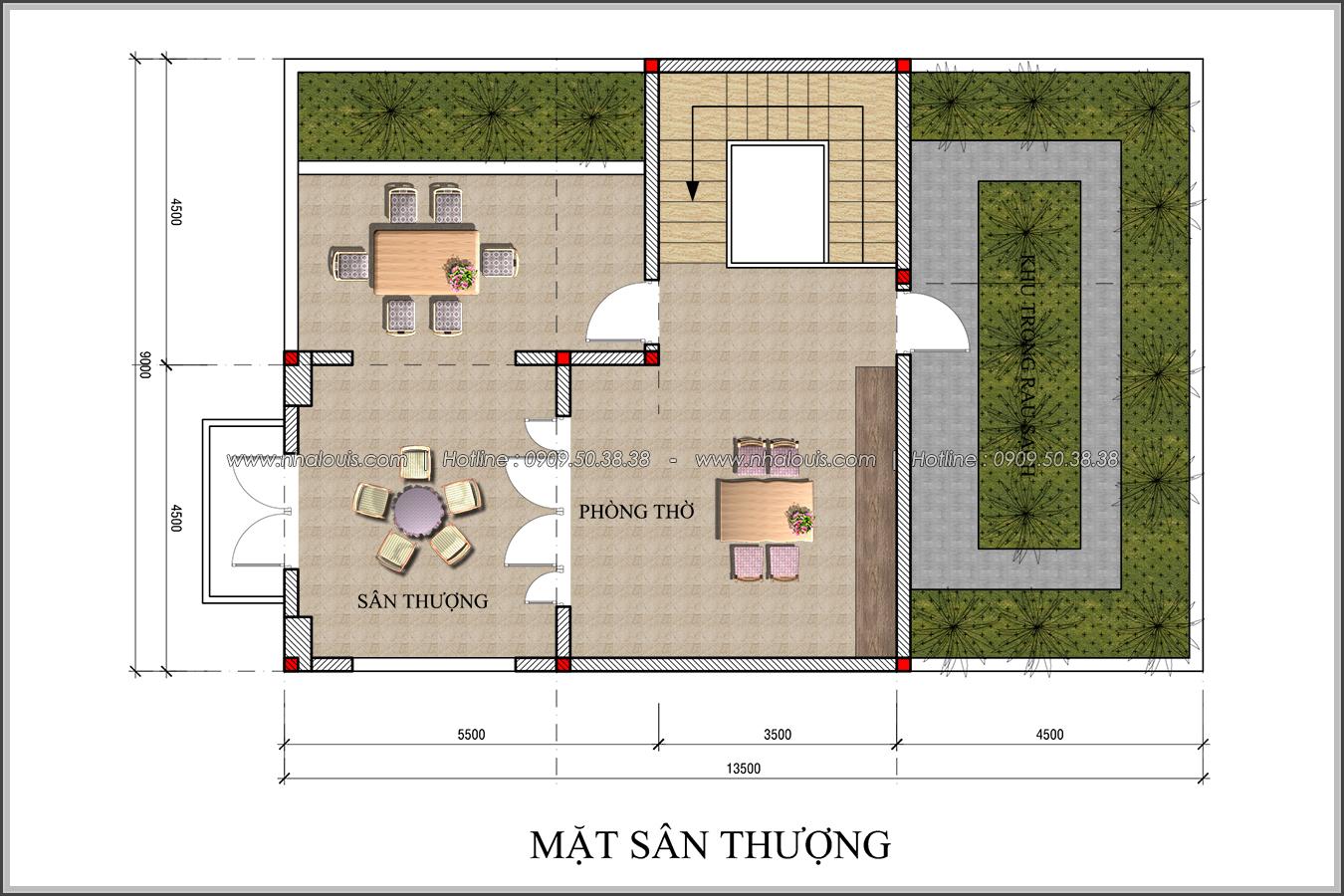 Thiết kế biệt thự tân cổ điển tại Đồng Nai đẹp rạng ngời phố thị - 06