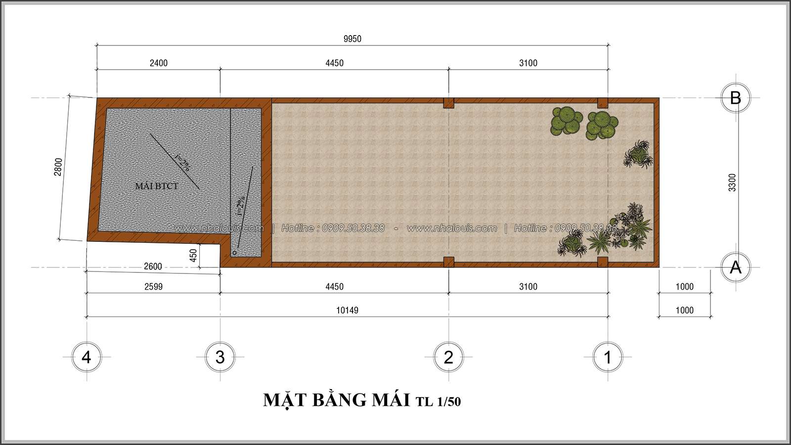 Thiết kế nhà phố 4 tầng kết hợp kinh doanh mặt tiền 3.3m tại chợ Tân Bình - 09