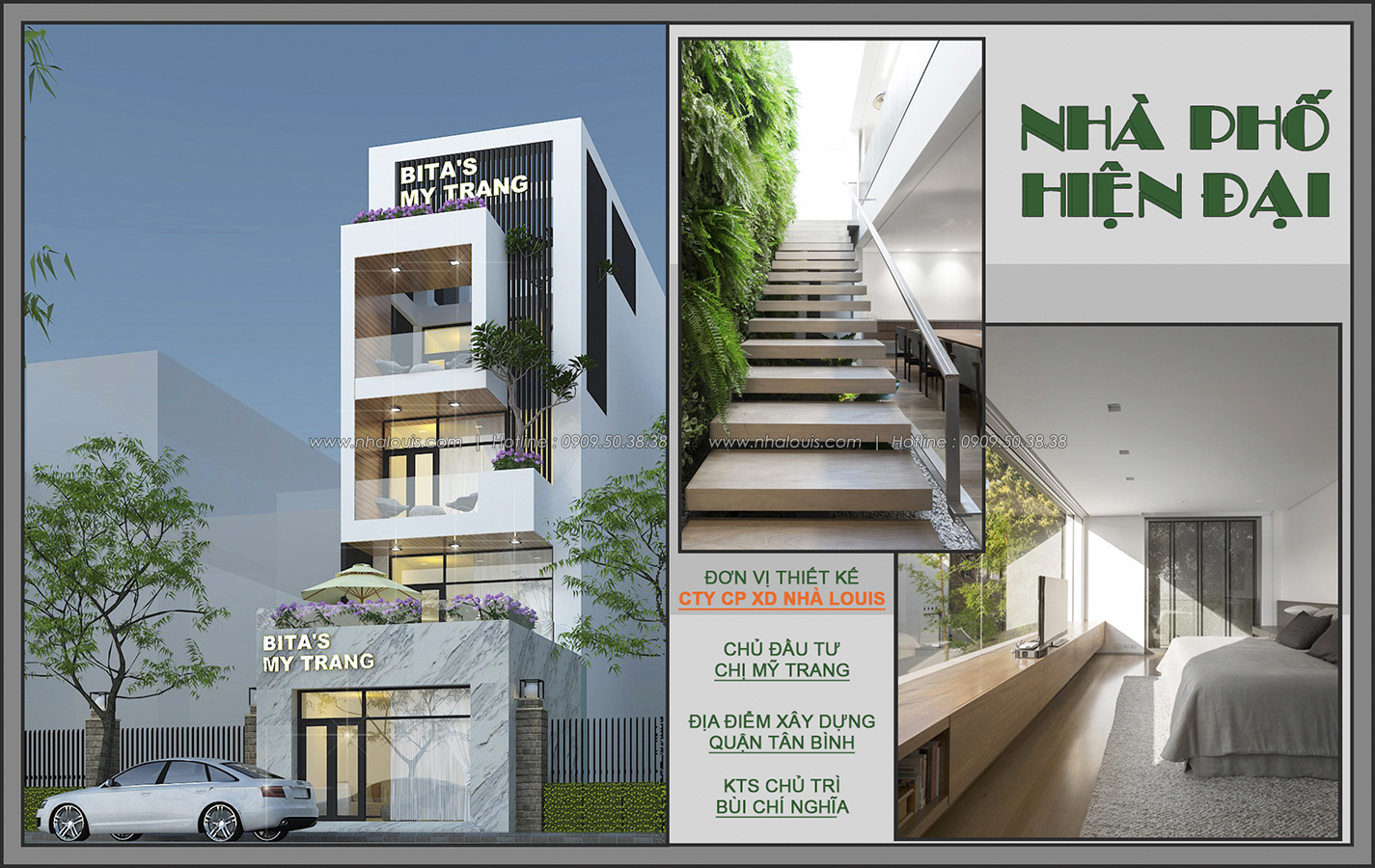 Thiết kế nhà phố mặt tiền 5m kết hợp kinh doanh tiện lợi tại Tân Bình - 01